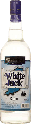 Westerhall white jack rum 400px