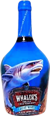 Medium whaler s great white rum