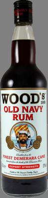 Wood 100 old navy rum rum