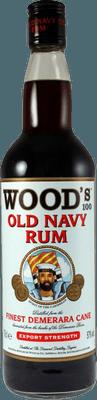 Medium wood 100 old navy rum rum