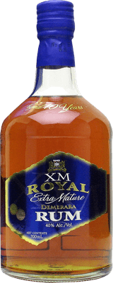Medium xm royal gold 10 year rum