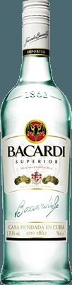 Medium bacardi superior rum