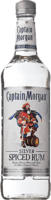 Small captain morgan silver spiced rum