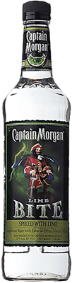 Medium captain morgan lime bite rum