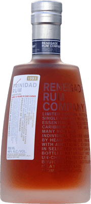 Medium renegade trinidad rum