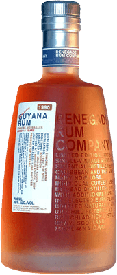 Medium renegade guyana rum