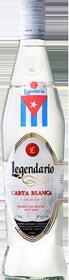 Legendario carta blanca superior rum
