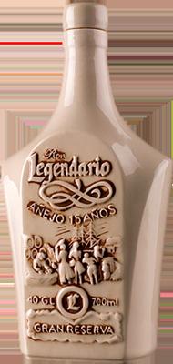 Legendario gran reserva 15 years rum