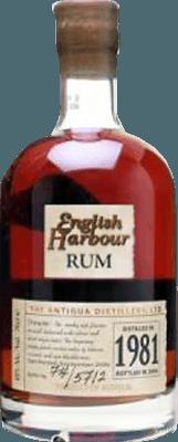 Medium english harbour 1981 rum