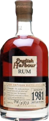 English Harbour 1981 25-Year rum