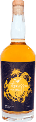 Medium taildragger amber rum