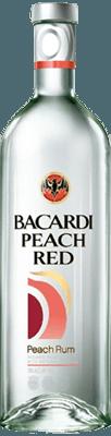 Medium bacardi peach red rum