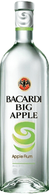 Medium bacardi big apple rum