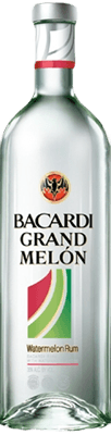 Medium bacardi grand melon rum