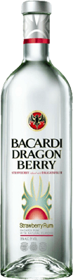 Medium bacardi dragon berry rum