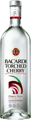 Medium bacardi torched cherry rum