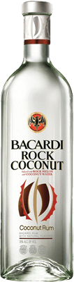Medium bacardi rock coconut rum