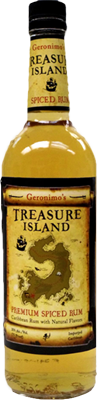 Treasure island premium spiced rum