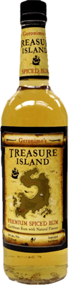 Medium treasure island premium spiced rum