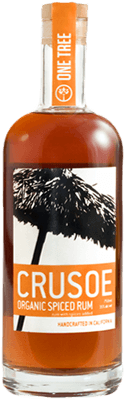Medium crusoe organic spiced rum