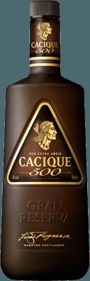 Medium cacique 500 extra anejo rum