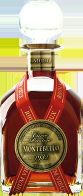Montebello vieux 1982 cuvee prestige 25 rum
