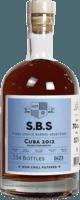 S.B.S. 2012 Cuba 7-Year rum
