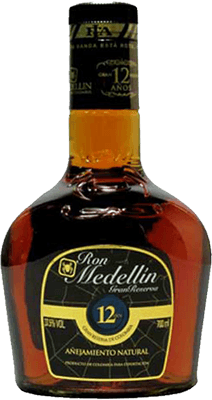 Medium ron medellin gran reserva 12 year rum