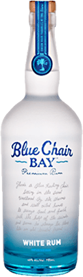 Medium blue chair bay white rum