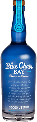 Medium blue chair bay coconut rum