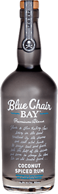 Medium blue chair bay coconut spiced rum