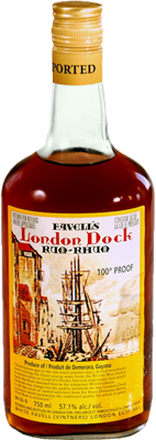 Favell s london dock demerara rum