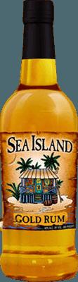 Medium sea island gold rum
