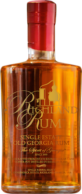 Richland single estate old georgia rum 400px