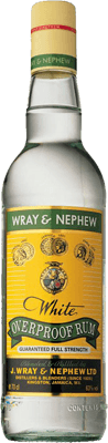 Medium wray   nephew white overproof rum