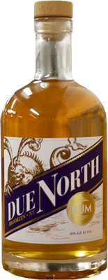 Medium due north gold rum
