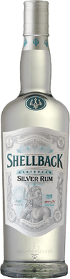 Medium shellback silver rum