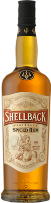 Medium shellback spiced rum