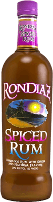 Medium ron diaz spiced rum