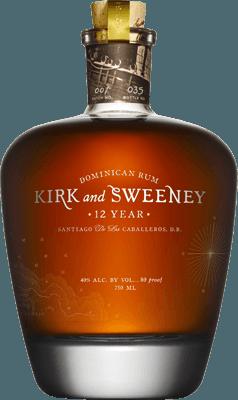 Medium kirk and sweeney 12 year rum