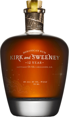 Medium kirk and sweeney 12 year rum