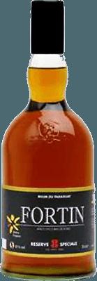 Medium fortin black label 8 year rum