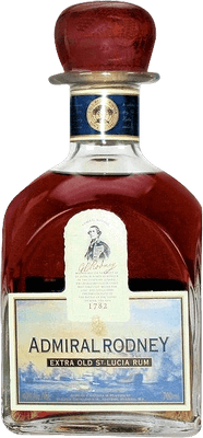 Medium admiral rodney  extra old 12 year rum