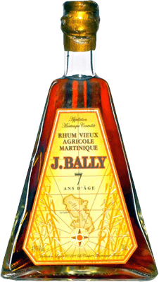 Medium j bally 7 year rum