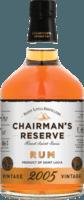 Chairman's 2005 Reserve rum