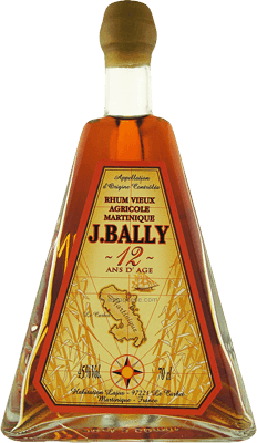 Medium j bally 12 year rum