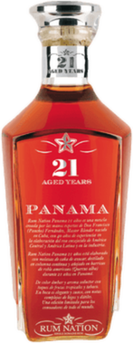 Rum nation panama 21 year rum orginal 400px