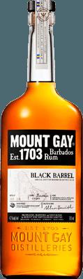 Medium mount gay black barrel rum