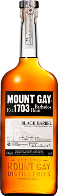 Medium mount gay black barrel rum