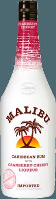 Medium malibu cranberry cherry rum